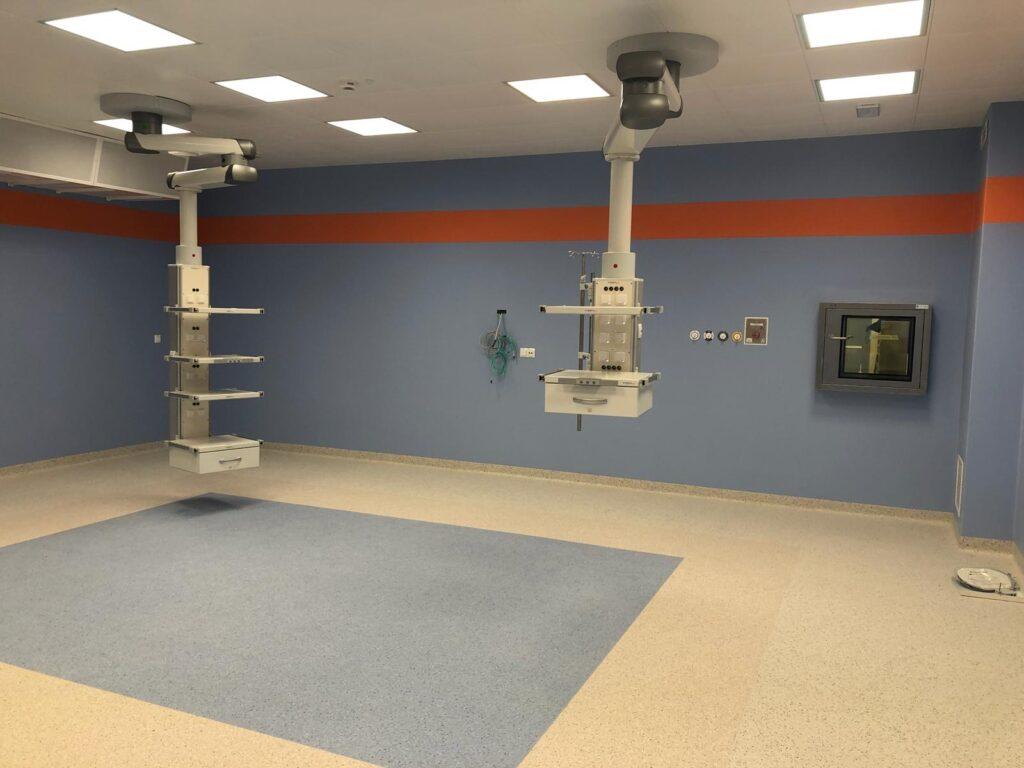 okładzina sala operacyjna
